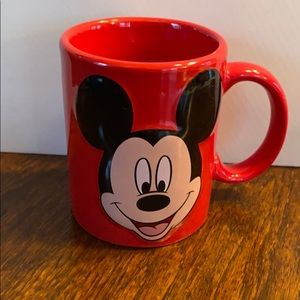Jerry Leigh 3D Disney Mickey Mouse Mug Red